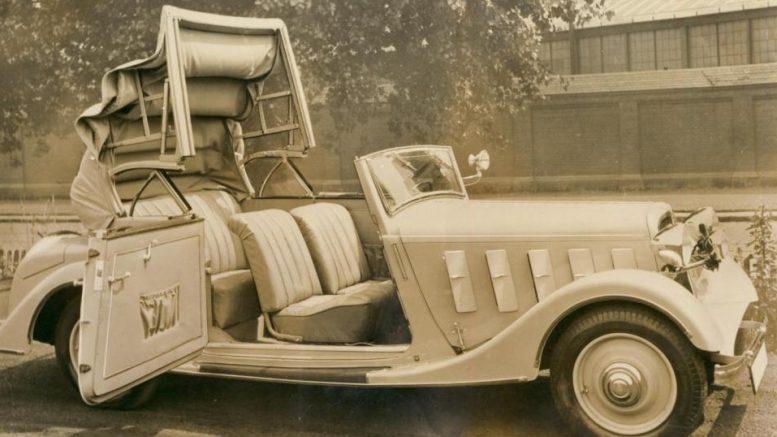 Hanomag Cabriolet von 1936. Foto: Karmann Pressefoto