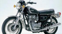 Ein Klassiker: die Yamaha XS650 aus den 70er Jahren. Foto: Yamaha