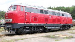 Aufgearbeitet: Die V160 002 ist am Sonntag zu Gast beim Dampflokfest am Zechenbahnhof. Foto: Albert Merseburger